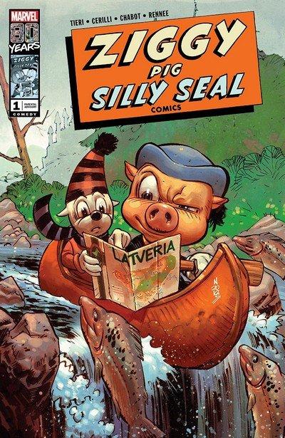 Ziggy Pig – Silly Seal Comics #1 (2019)