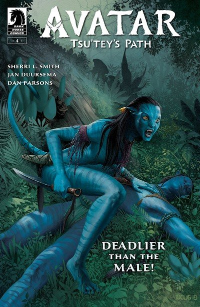 Avatar – Tsu'tey's Path #4 (2019)