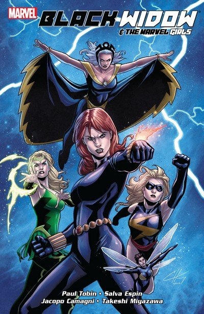 Black Widow and the Marvel Girls (TPB) (2010)