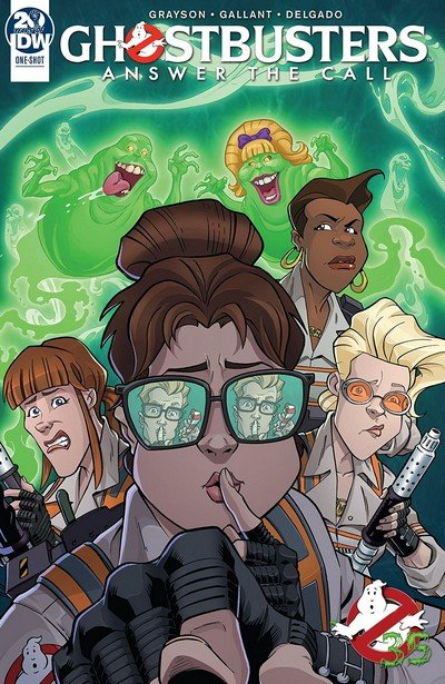 Ghostbusters – 35th Anniversary – Answer The Call Ghostbusters #1 (2019)