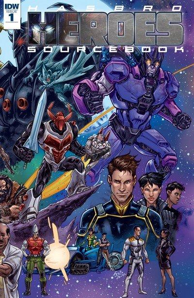 Hasbro Heroes Sourcebook #1 – 3 (2017)