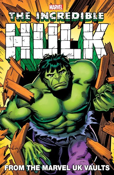 Hulk – From the Marvel UK Vaults (TPB) (2013)