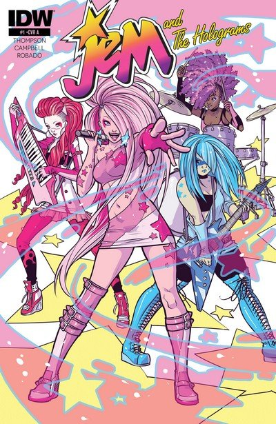 Jem and the Holograms (Collection) (2015-2019)