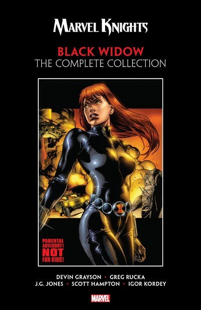 Marvel Knights Black Widow by Grayson & Rucka – The Complete Collection (2018)