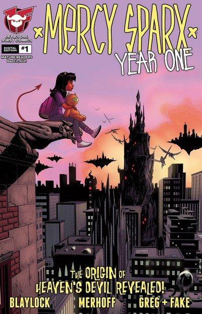 Mercy Sparx – Year One #1 – 3 (2016-2017)