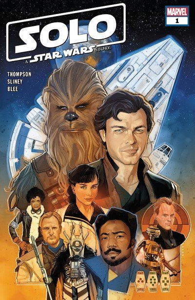 Solo – A Star Wars Story Adaptation #1 – 7 (2018-2019)