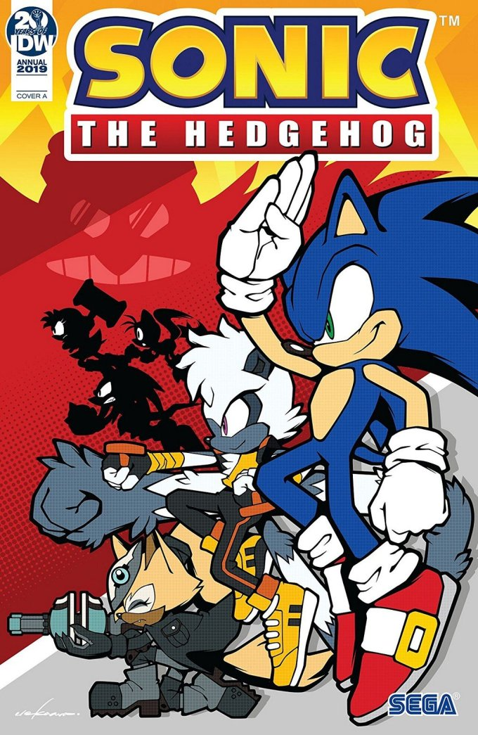 Sonic The Hedgehog – Annual 2019