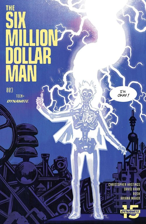 The Six Million Dollar Man #3 (2019)