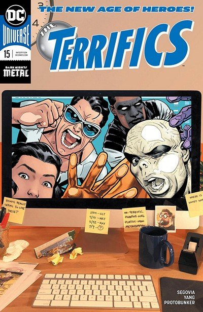 The Terrifics #15 (2019)