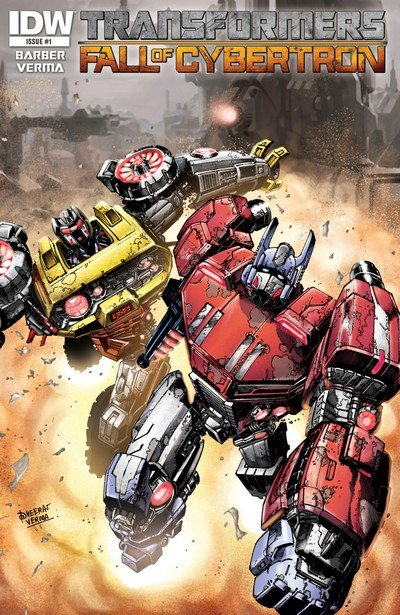 Transformers – Fall of Cybertron #1 – 6 (2012)