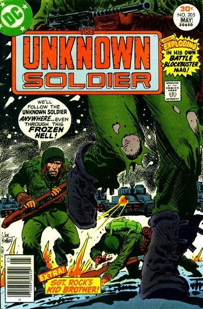 Unknown Soldier Vol. 1 #205 – 268 (1977-1982)
