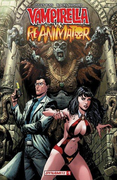 Vampirella vs. Reanimator #1 – 4 (2018-2019)