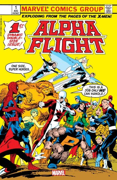 Alpha Flight – Facsimile Edition #1 (2019)