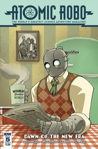 Atomic Robo And The Dawn Of A New Era #5 (2019)