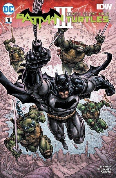 Batman – Teenage Mutant Ninja Turtles III #1 (2019)