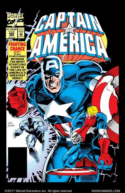 Captain America – Fighting Chance (Story Arc) (1994-1995)