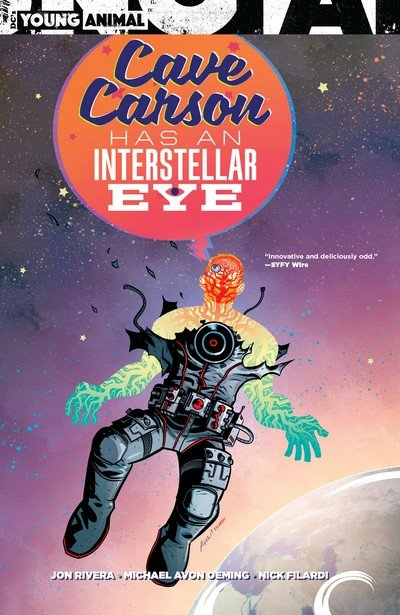 Cave Carson Has an Interstellar Eye (TPB) (2018)
