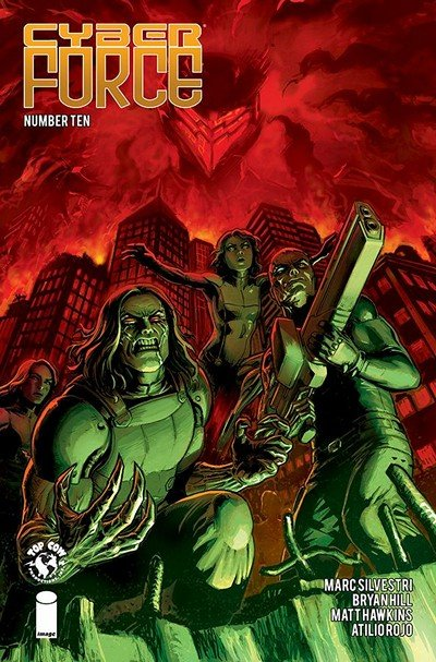 Cyber Force #10 (2019)