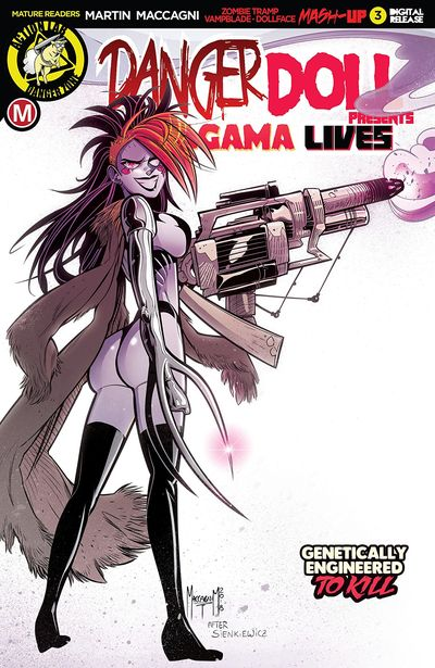Danger Doll Squad Presents – Amalgama Lives #3 (2019)