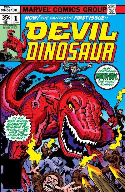 Devil Dinosaur #1 – 9 (1978)
