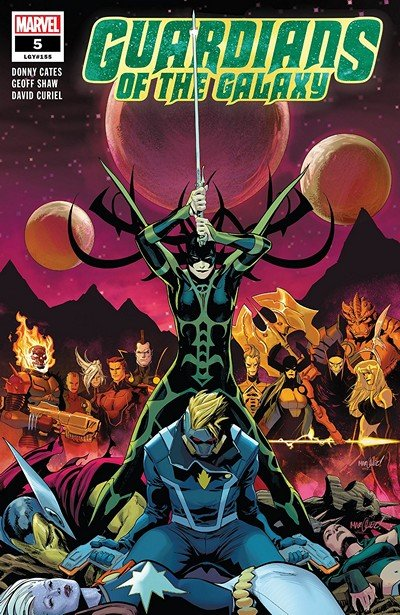 Guardians Of The Galaxy #5 (2019)