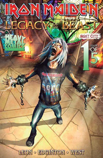 Iron Maiden – Legacy of the Beast – Night City #1 (2019)