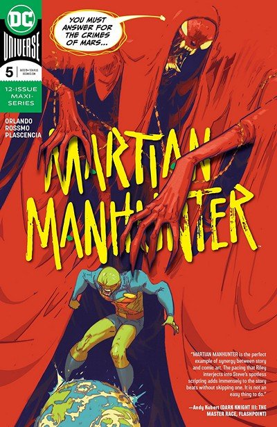 Martian Manhunter #5 (2019)