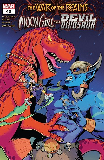 Moon Girl And Devil Dinosaur #43 (2019)