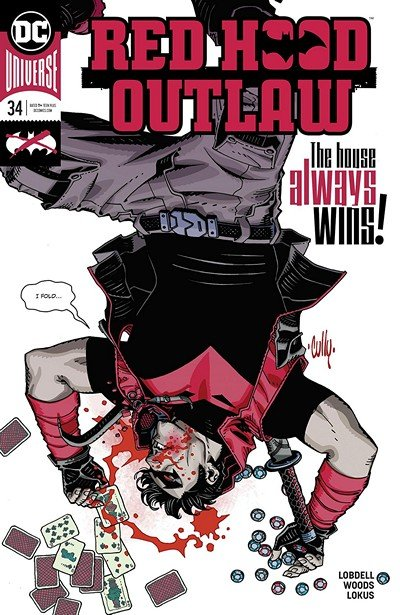 Red Hood – Outlaw #34 (2019)