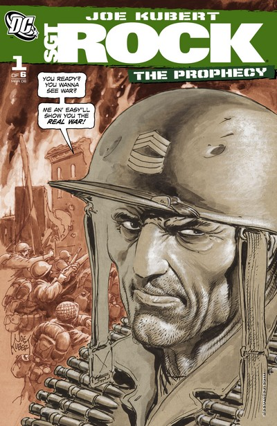 Sgt. Rock – The Prophecy #1 – 6 (2006)