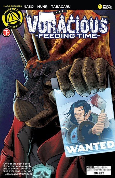 Voracious – Feeding Time #1 – 5 (2016-2017)