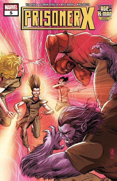 Age Of X-Man – Prisoner X #5 (2019)