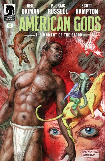 American Gods – The Moment Of The Storm #3 (2019)