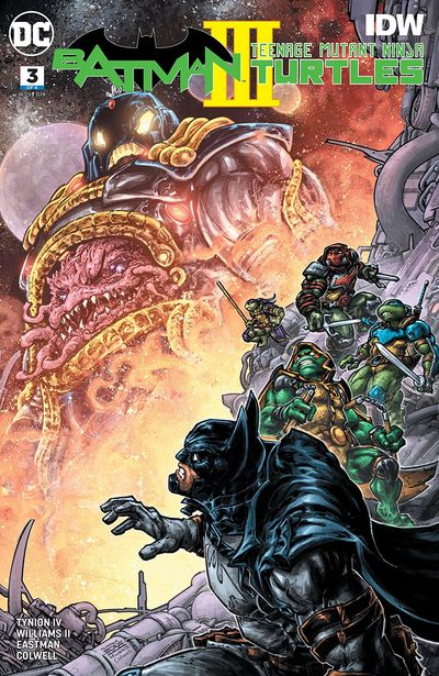 Batman – Teenage Mutant Ninja Turtles III #3 (2019)