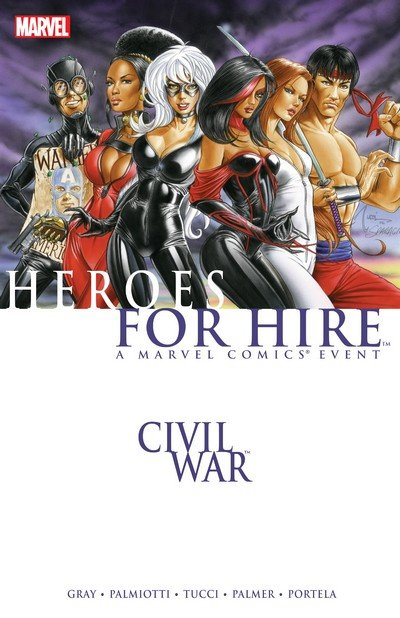Civil War – Heroes For Hire (TPB) (2009)