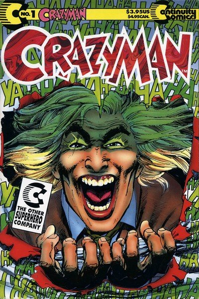Crazyman Vol. 1 #1 – 3 (1992)