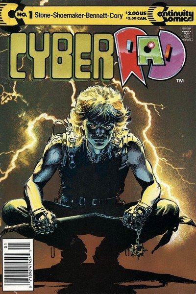 CyberRad Vol. 1 – 3 (1991-1993)
