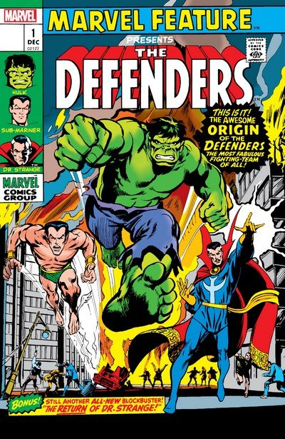 Defenders – Marvel Feature – Facsimile Edition #1 (2019)