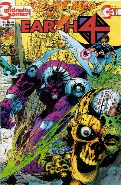Earth 4 Vol. 2 #1 – 4 (1993-1994)