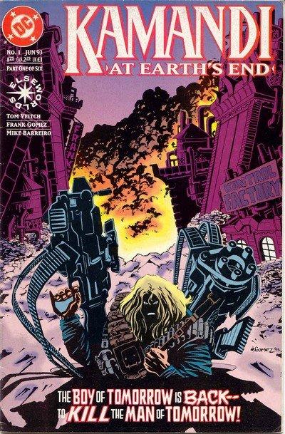 Kamandi – At Earths End #1 – 6 (1993)