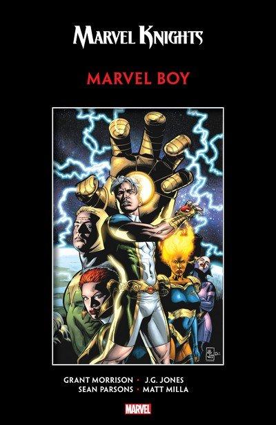 Marvel Knights Marvel Boy by Morrison & Jones (TPB) (2018)