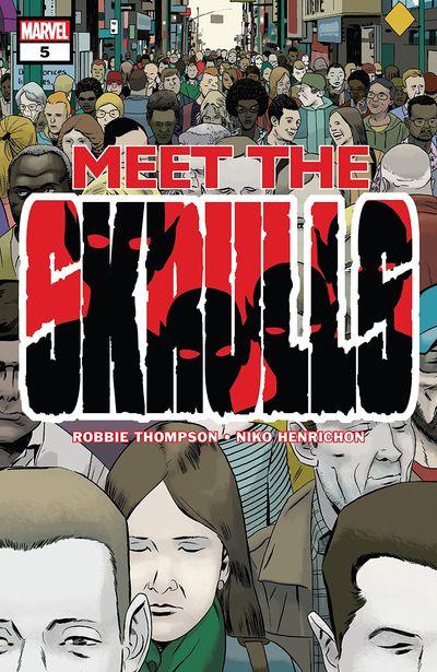 Meet The Skrulls #5 (2019)