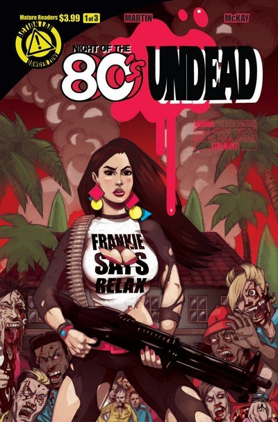 Night of the 80's Undead #1 – 3 + TPB (2013-2014)