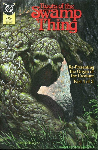 Roots of the Swamp Thing #1 – 5 (1986)