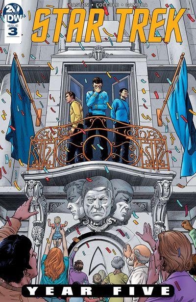 Star Trek – Year Five #3 (2019)