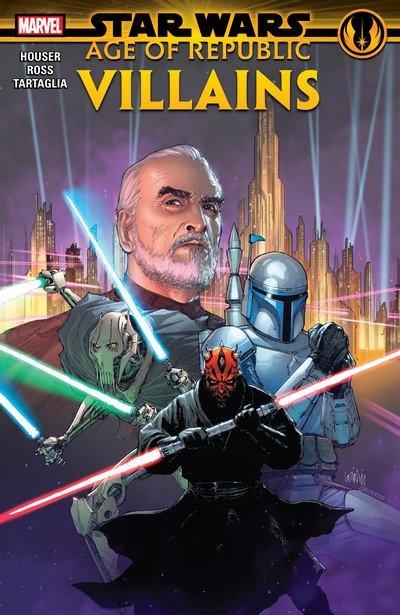 Star Wars – Age Of Republic – Villains (TPB) (2019)