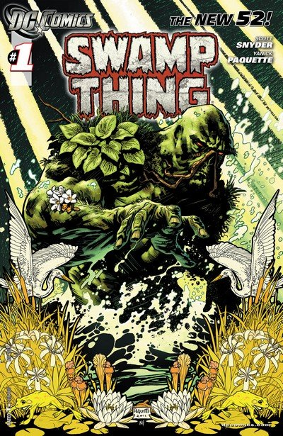Swamp Thing Vol. 1 – 6 + TPBs (Collection) (1972-2018)