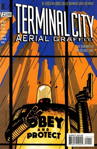 Terminal City – Aerial Graffiti #1 – 5 (1997-1998)