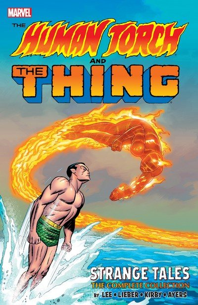 The Human Torch & The Thing – Strange Tales – The Complete Collection (2018)