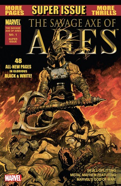 The Savage Axe Of Ares #1 (2011)